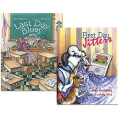 First Day Jitters and Last Day Blues. My professor at A read First Day Jitters on the first day of class and I loved it! When School Starts, Beginning Of School, First Day Jitters, Kindergarten First Day, Kindergarten Classroom, Classroom Ideas, School Fun, School Ideas, School Life