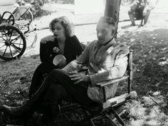 Greta Garbo and John Gilbert in Love