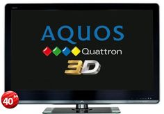 "Sharp LC-40LE830M 40"" #3D #LED #MultiSystem World Wide #TV (Price: $964.99)."