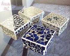 Mosaico é a técnica de Celeste Santana, a Artesã do Mês