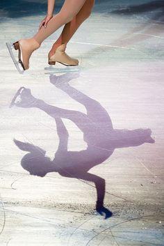 Ice Skating shadow