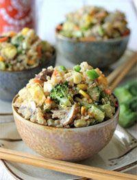 Quinoa met groenten - Fit door gezond eten