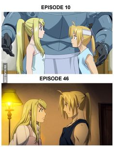 Character development done right. Anime[Full Metal Alchemist Brotherhood]
