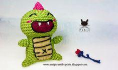 Funny Amigurumi by Pebie: Dracs just wanna have fun