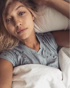 Gigi Hadid | 41 Victoria's Secret Models Show What They Look Like Without Makeup