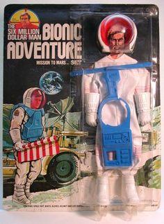 Six Million Dollar Man Bionic Adventure Set - Mission to Mars