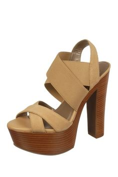 <3 -Paris Platform Sandal