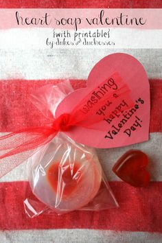 Heart Soap Valentine by Dukes and Duchesses
