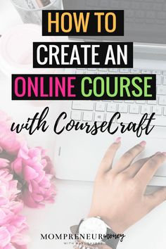 Looking for a different platform to create an online course? CourseCraft is a great alternative to the major course platforms on the market today. Make Money Blogging, How To Make Money, Business Tips, Online Business, Best Online Courses, Online Programs, Affiliate Marketing, Facebook Marketing, Online Marketing