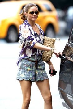 Olivia Palmero...she could wear a garbage bag and still look fabulous.