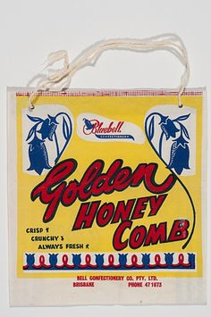 Check this out! 'Golden Honey Comb' by Bluebell Confectionery one of the classic Ekka Showbags