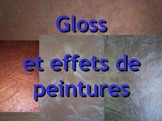 Album - Les-effets-de-gloss-métallisés muraux