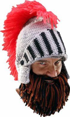 28622466399 The Barbarian Knight Beard Hat - Fuzzy Faces