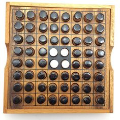 Wooden Toy : Othello / Reversi Wooden Game Puzzle Brain Teaser – The Organic Natural Puzzle Game Play for Baby and Kids Craft Kits For Kids, Puzzles For Kids, Love Games, Games To Play, Othello Game, Kerplunk Game, Aggravation Board Game, Carrom Board, Pocket Game