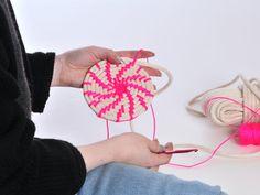 So, I make stuff: Making Neon Rope Baskets
