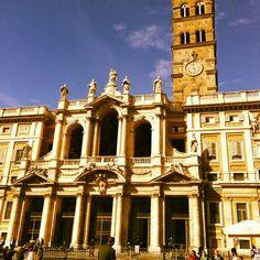 Basilica di Santa Maria Maggiore in Roma, Lazio. A magnificent church, slightly off the regular tourist track.