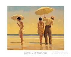 Mad Dogs Prints by Jack Vettriano at AllPosters.com
