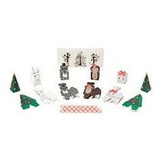 IKEA VINTER 2018 Advent calendar, set of 25 Make the wait for Christmas more fun by filling the gift boxes with small presents and giving them away as a personal advent calendar. Ikea Christmas, Xmas, Holiday Gifts, Holiday Decor, Deck The Halls, Winter Holidays, More Fun, Christmas Decorations, Presents