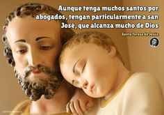 Catholic Prayers In Spanish, Mama Mary, Strong Faith, One Wish, Holy Family, St Joseph, Gods Love, Saints, Religion