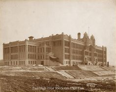 Lisa Harrison remembers walking into East High School on her first day as a freshman student in She remembers passing Ohio Image, East High School, Salt Lake County, History Photos, Old Buildings, Heaven On Earth, Lake City, Abandoned Places, Old Pictures
