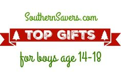 Here are the top gifts for boys age 14-18 to help you out with your Christmas list this year.