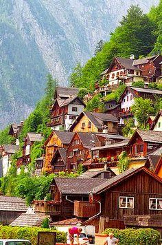 Hallstatt, Austria..