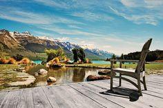 Blanket Bay, a lodge on Lake Wakatipu, in New Zealand