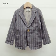 "REGIMENTAL JACKET (AL517201)- 【ARCH&LINE】OFFICIAL WEBSITE | ""ARCH&LINE"" is a fashion brand for children and everyone."