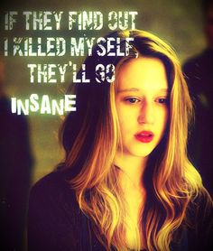If they find out I killed myself, they'll go insane. Violet Harmon played by Taissa Farmiga, Murder House. Violet Ahs, Tate And Violet, Evan Peters, Ahs Season 1, American Horror Story 3, Horror Show, Coven, Best Shows Ever, Movies Showing