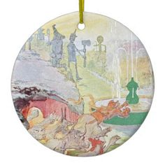 #Wizard Of Oz No. 3 Ceramic Ornament - #Xmas #ChristmasEve Christmas Eve #Christmas #merry #xmas #family #kids #gifts #holidays #Santa