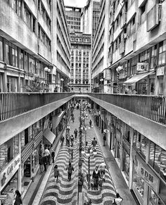 1962 Sao Paulo Rua Nova Barão, opened to the public in 1962.