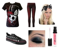 """""""My dream outfit <3"""" by thegirlyjoker ❤ liked on Polyvore featuring Pepe Jeans London and NYX"""