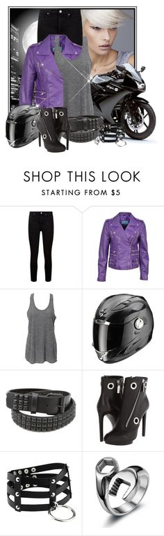 """""""Night bash"""" by pusja76 ❤ liked on Polyvore featuring By Terry, Paige Denim and Alexander McQueen"""