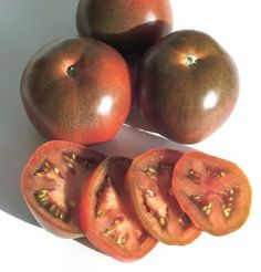 Amazon.com: Tomato Black Prince, Solanum lycopersicum 100 Organic Heirloom Seeds by David's Garden Seeds: Patio, Lawn & Garden