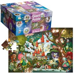 Puzzle gigante The Magic Castle | LUDATTICA | Juguete EurekaKids