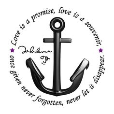 Personal Tattoo in memory of John Lennon. Multimedia application using Max for Anchor and Text and Adobe Photoshop for signature of John Lennon and . John Lennon and Anchor Tattoo Anchor Tattoo Quotes, Anchor Quotes, Anchor Tattoo Design, Good Tattoo Quotes, Anchor Tattoos, Quote Tattoos, Rose Tattoo Pictures, Picture Tattoos, Trendy Tattoos