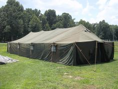 Military Tents and Military Surplus