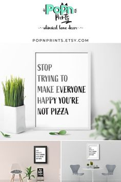 Candy Art Digital Prints for Birthday Gift, Sarcastic Kitchen Wall Art as Printable Art, Typography Printable Quotes Home Decor Printable Quotes, Printable Wall Art, Whimsical Kitchen, Candy Art, Bar Art, Quirky Home Decor, Kitchen Wall Art, Decorative Throw Pillows, House Warming