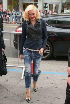 """Gwen Stefani style """"Paddington"""" premiere, 2015."""