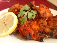 Kurczak Tikka (Chicken Tikka) Chicken Tikka, Tandoori Chicken, Drinks, Cooking, Ethnic Recipes, Food, Drinking, Kitchen, Beverages