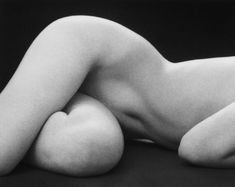 "Ruth Bernhard. ""Hips Horizontal"", 1975. Many of Bernhard's classic nudes are shown on this site, sadly not allowed by Pinterest."