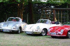 Porschetreffen im Biergarten in München im Waldgasthof Buchenhain Sommer 2013