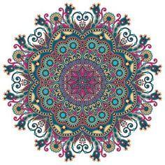 C�rculo adorno de encaje, ronda patr�n geom�trico ornamental doily photo