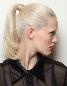 Ponytails: The Hot New Hair Trend