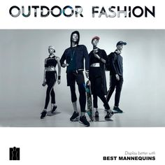 Enjoy our TOP SPORTS mannequins !
