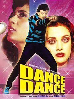 Dance Dance Hindi Movie Online - Mithun Chakraborty, Smita Patil, Mandakini, Dalip Tahil, Amrish Puri, Om Shivpuri and Shakti Kapoor. Directed by Babbar Subhash. Music by Bappi Lahiri. 1987 [U]