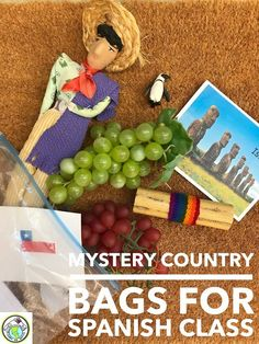 Mystery Country Bags - A Culture Activity for Spanish Class.. This is a great activity to do with any age group so students can learn more about each Spanish speaking country. Also great for Hispanic Heritage Month! Mundo de Pepita, Resources for Teaching Spanish to Children