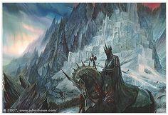 The Witch King Nazgul - LOTR - illustration ~ John Howe