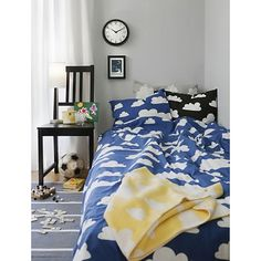 Clouds bedding from Sweden Gunila available in many colors  - claradeparis.com ♥