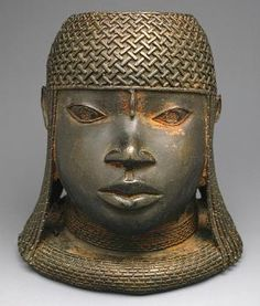 Benin bronze hip masks and Benin Oba commemorative heads - RAND AFRICAN ART